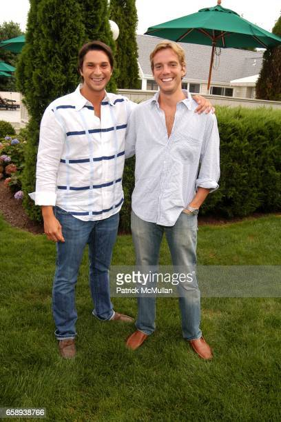 Dane Hope and Jamie Fleck attend PULSE OF THE CITY GALA Comes To The Hamptons Hosted by the CARDIOVASCULAR RESEARCH FOUNDATION at Private Residence...
