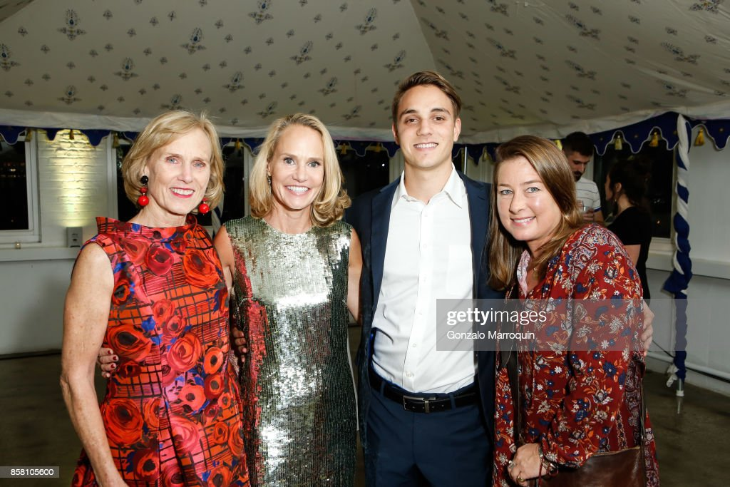 Dane Nichols, Noah Emanuel, Sarah Addington Emanuel and Dane Towell during the CITTA Fest 2017 Fall Benefit at Tribeca Skyline Studios on October 5, 2017 in New York City.