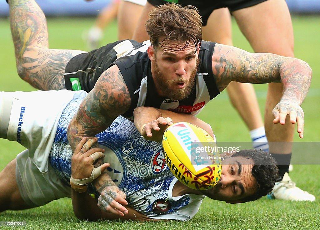 AFL Rd 9 - Collingwood v North Melbourne