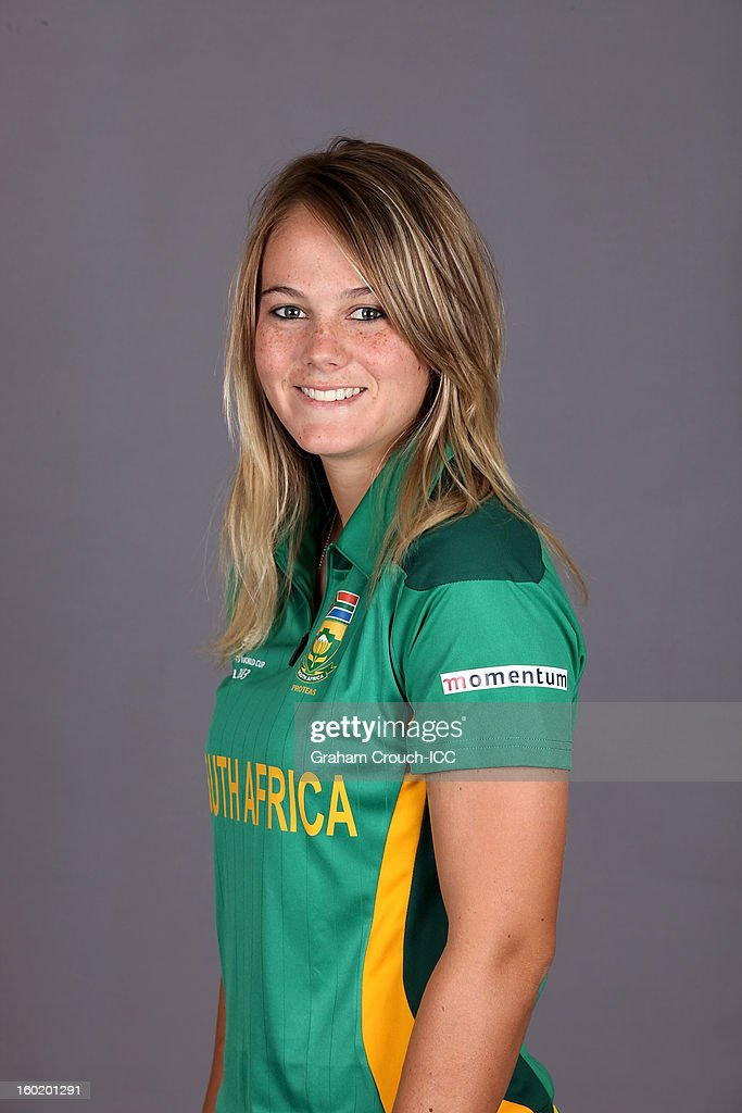 Dane Van Niekerk of South Africa poses at a portrait session ahead of the ICC Womens World Cup 2013 at the Taj Mahal Palace Hotel on January 27, 2013 in Mumbai, India.