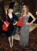 Danelle Leverett and Susie Brown attend the Backstage Creations celebrity retreat during the American Country Awards at the MGM Grand Garden Arena on...