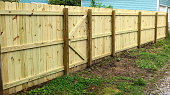 Dang, Jim! You got a good-looking new fence!