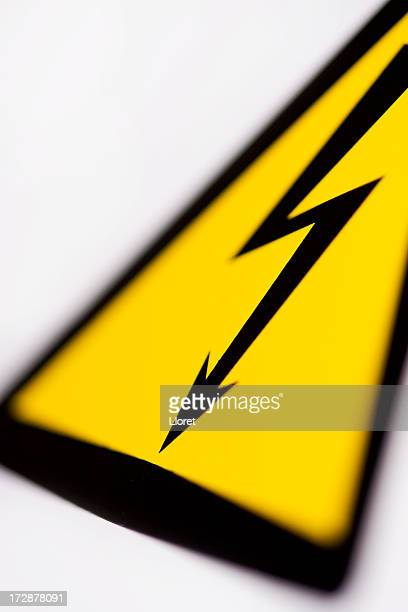 Danger - High voltage sign