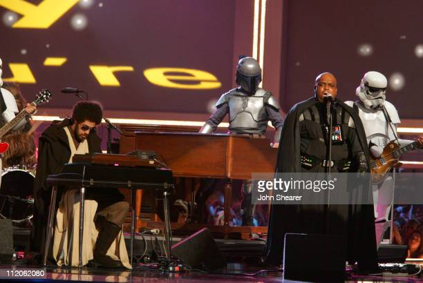 Danger Mouse and CeeLo of Gnarls Barkley perfom 'Crazy'