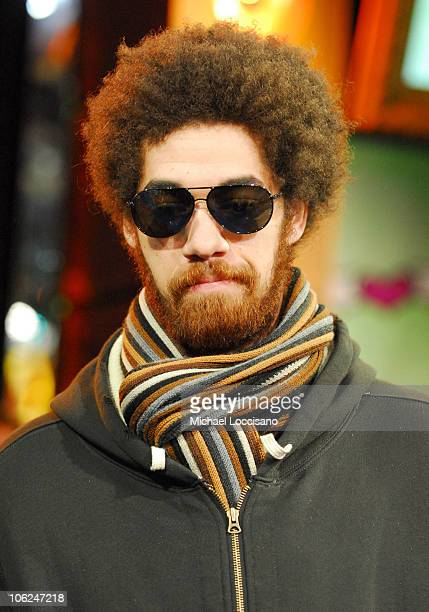 Danger Mouse of Gnarls Barkley during Katharine McPhee and Gnarls Barkley Visit MTV's 'TRL' February 5 2007 at MTV Studios Times Square in New York...