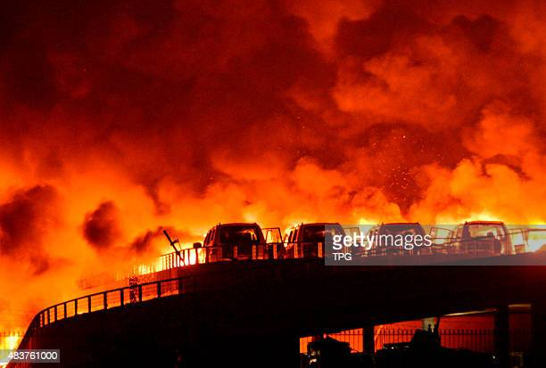 A dangerous cargo storage exploded in the midnight on 12th August 2015 in Tianjin China 17 people were confirmed dead for now in the catastrophe