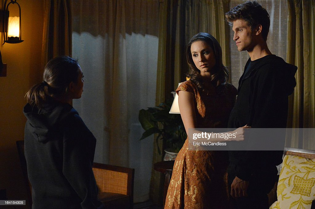 LIARS - 'A dAngerous gAme' - The Liars are seeing red as they attempt to put an end to the game in 'A dAngerous gAme,' the Season Three finale of ABC Family's hit original series, 'Pretty Little Liars,' airing Tuesday, March 19th (8:00 - 9:00 PM ET/PT). JANEL