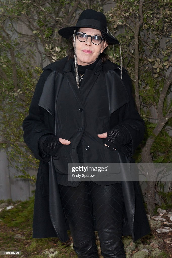 Dani attends the Chanel Spring/Summer 2013 Haute-Couture show as part of Paris Fashion Week at Grand Palais on January 22, 2013 in Paris, France.