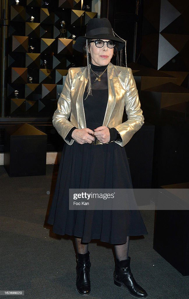 Dani attends the opening of the Karl Lagerfeld concept store during Paris Fashion Week Fall/Winter 2013 at Karl Lagerfeld Concept Store Saint Germain on February 28, 2013 in Paris, France.
