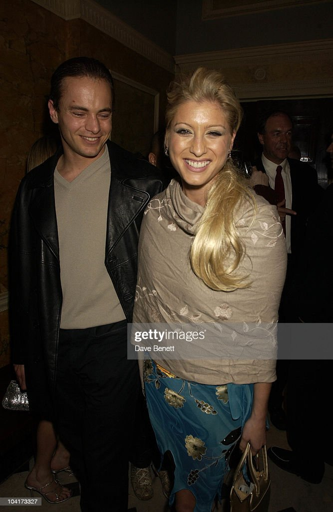 Dani Behr & Ian Walker, Almost Every Pop Group Turned Up At To Home House To Celebrate The Home Magazine, BMG Brits Party At Home House, London