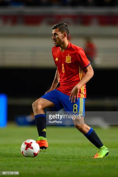 Dani Ceballos during the friendly match of national teams U21 of Spain vs Denmark in stadium Nueva Condomina Murcia SPAIN March 23rd 2017