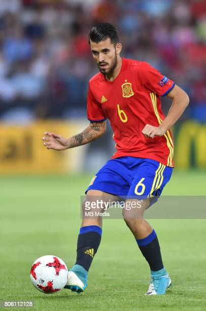 Dani Ceballos during the UEFA European Under21 final match between Germany and Spain on June 30 2017 in Krakow Poland