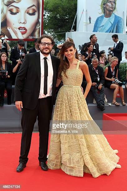Dani De La Torre and Goya Toledo attend the opening ceremony and premiere of 'Everest' during the 72nd Venice Film Festival on September 2 2015 in...