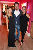 Dani Dyer Danny Dayer and Joanne Mas attend a Special Screening of 'We Still Kill The Old Way' at the Ham Yard Hotel on September 29 2014 in London...