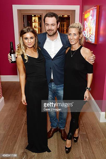 Dani Dyer Danny Dyer and Joanne Mas attend a photocall for 'We Still Kill The Old Way' at Ham Yard Hotel on September 29 2014 in London England