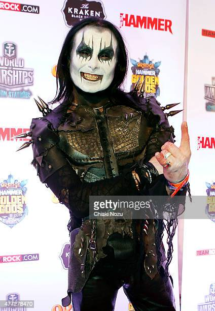 Dani Filth of Cradel of FIlth attends the Metal Hammer Golden Gods awards on June 15 2015 in London England