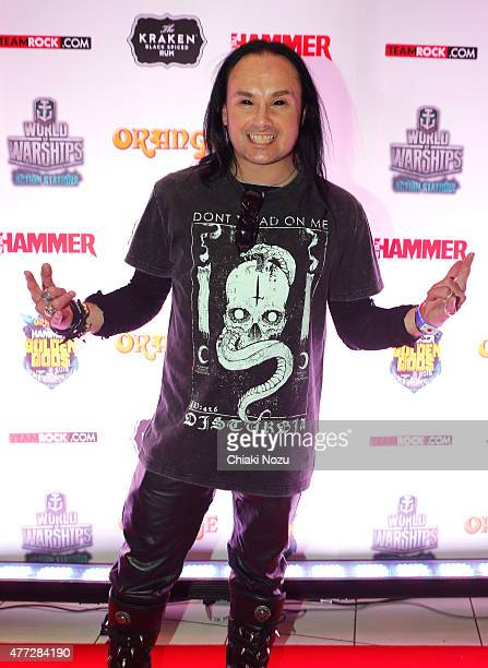 Dani Filth of Cradle of Filth attends the Metal Hammer Golden Gods awards on June 15 2015 in London England