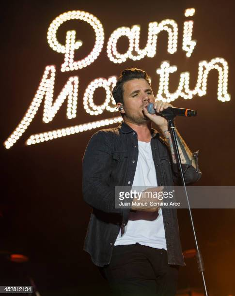Dani Martin performs at Palacio Magdalena on July 27 2014 in Santander Spain