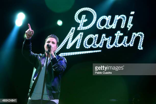 Dani Martin performs in concert at 'Palacio de los Deportes' on May 23 2014 in Madrid Spain