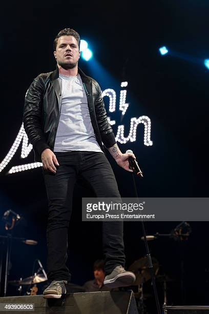 Dani Martin performs in concert in Madrid on May 23 2014 in Madrid Spain