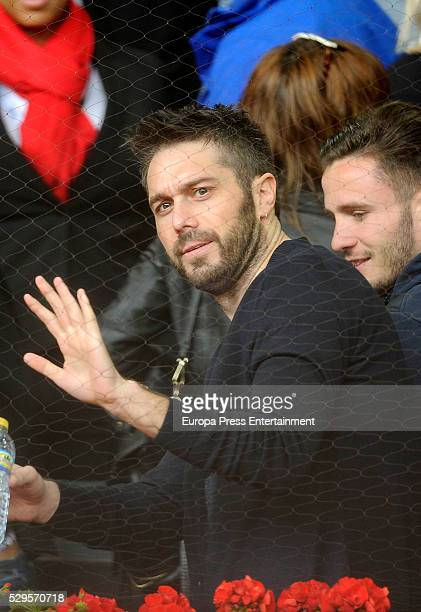 Dani Martinez attends the tennis match during 7th day of the Mutua Madrid Open tennis tournament at La Caja Magica on May 6 2016 in Madrid Spain