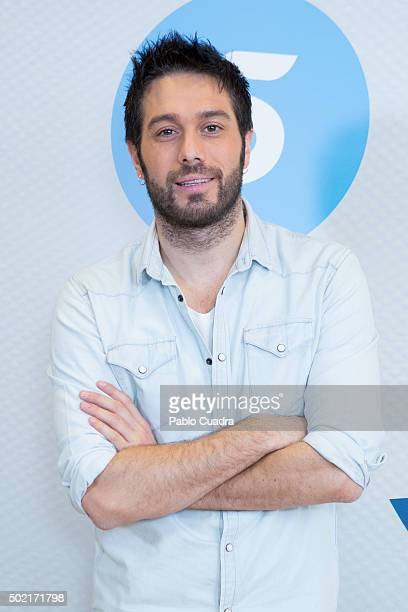 Dani Martinez presents the 'Chiringuito de Pepe' Second Season at Mediaset Studios on December 21 2015 in Madrid Spain