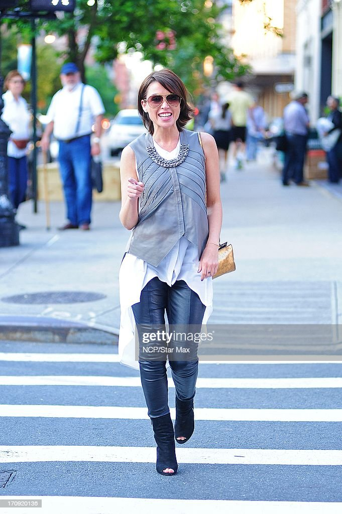 Dani Minogue as seen on June 19, 2013 in New York City.