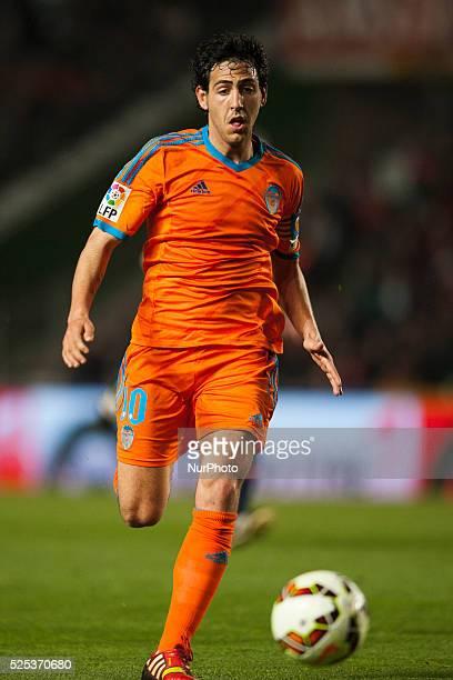 Dani Parejo during the match between Elche CF against Valencia CF week 28 of La Liga 2014/15 in Martinez Valero stadium Elche SPAIN 2015 march 20