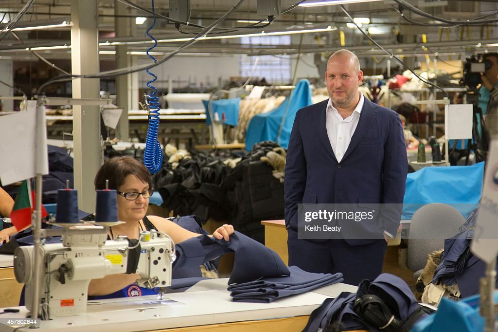 canada goose factory tour