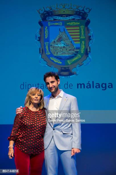Dani Rovira and Maria Teresa Campos attend the appointment of Dani Rovira and Maria Teresa Campos as favorite and adopted sons of Malaga on September...