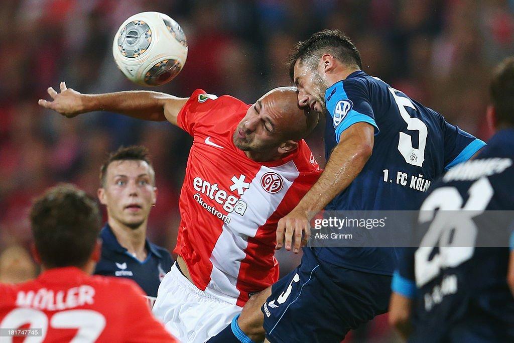 FSV Mainz 05 v 1. FC Koeln - DFB Cup