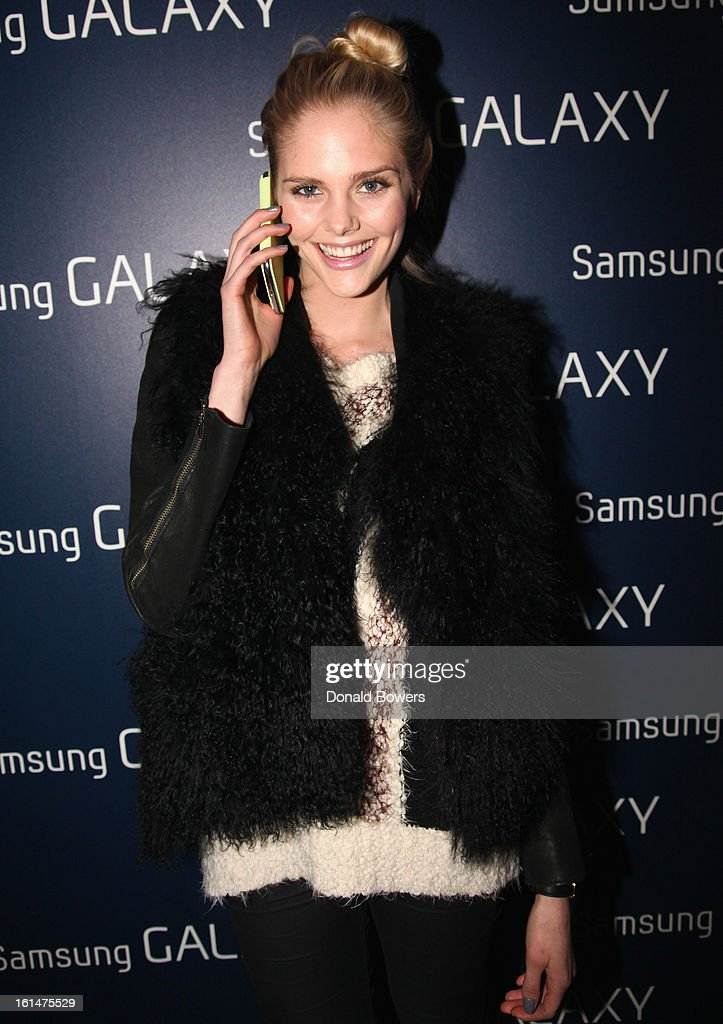 Dani Seitz attends the Samsung Galaxy Lounge VIP Reception at Mercedes-Benz Fashion Week Fall 2013 at Lincoln Center on February 10, 2013 in New York City.