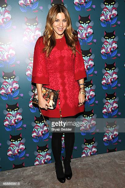 Dani Stahl attends Miu Miu Women's Tales 7th Edition 'Spark Light' Screening Arrivals at Diamond Horseshoe on February 11 2014 in New York City
