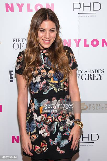 Dani Stahl attends Nylon and Fashion Police's 'Fifty Shades Of Grey' Release Party at Dream Downtown on February 11 2015 in New York City