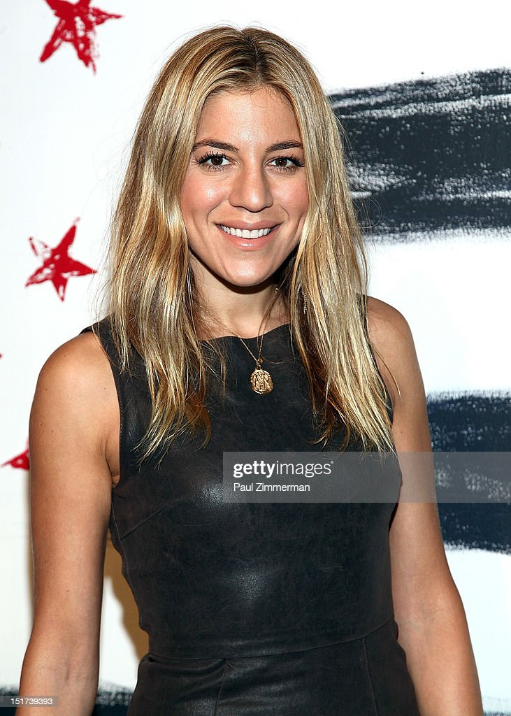 Dani Stahl attends the Alice + Olivia By Stacey Bendet show during Spring 2013 Mercedes-Benz Fashion Week at Century 548 on September 10, 2012 in New York City.