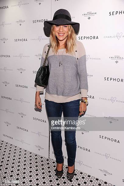 Dani Stahl attends the Charlotte Ronson Beauty and Sephora Dinner at Hotel Chantelle on August 29 2011 in New York City