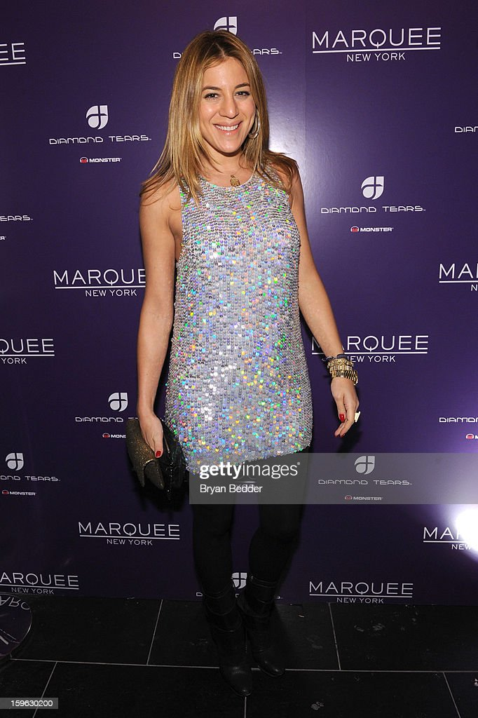 Dani Stahl attends the grand opening of Marquee New York on January 16, 2013 in New York City.