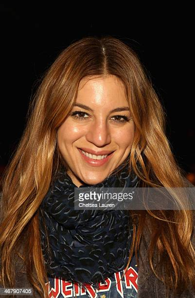 Dani Stahl attends the Mara Hoffman fashion show during MercedesBenz Fashion Week Fall 2014 at The Salon at Lincoln Center on February 8 2014 in New...