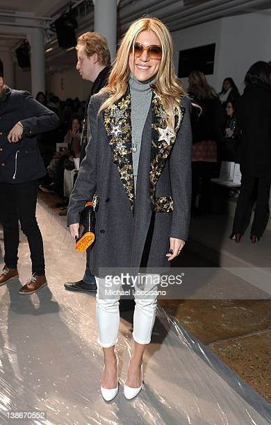 Dani Stahl attends the Peter Som Fall 2012 fashion show during MercedesBenz Fashion Week at Milk Studios on February 10 2012 in New York City