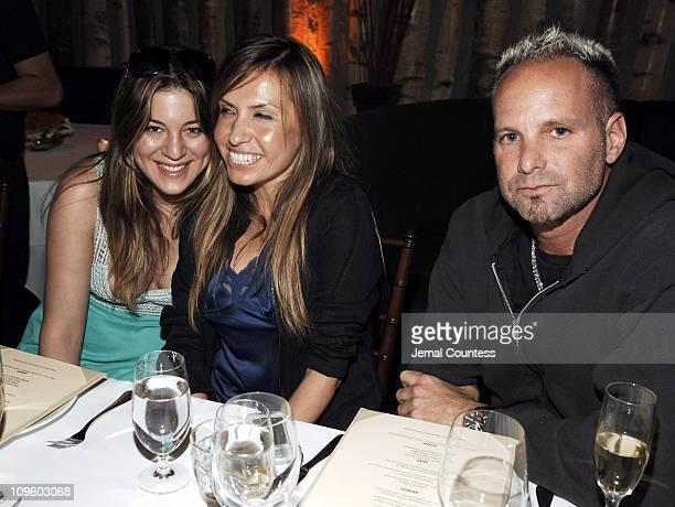Dani Stahl with Jaclynn Jarrett and Marvin Scott Jarrett of NYLON magazine