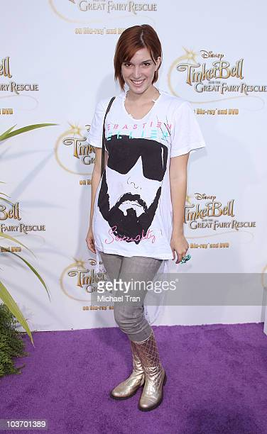 Dani Thorne arrives to the special screening of 'Tinker Bell And The Great Fairy Rescue' held at La Cienega Park on August 28 2010 in Beverly Hills...