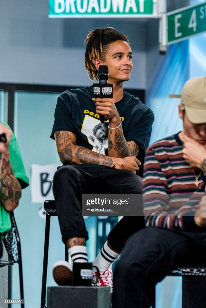 Dani Washington of Neck Deep discusses 'The Peace and The Panic' with the Build Series at Build Studio on August 17, 2017 in New York City.