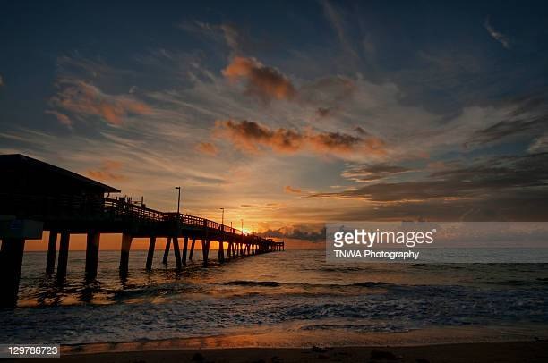 Dania beach at sunrise