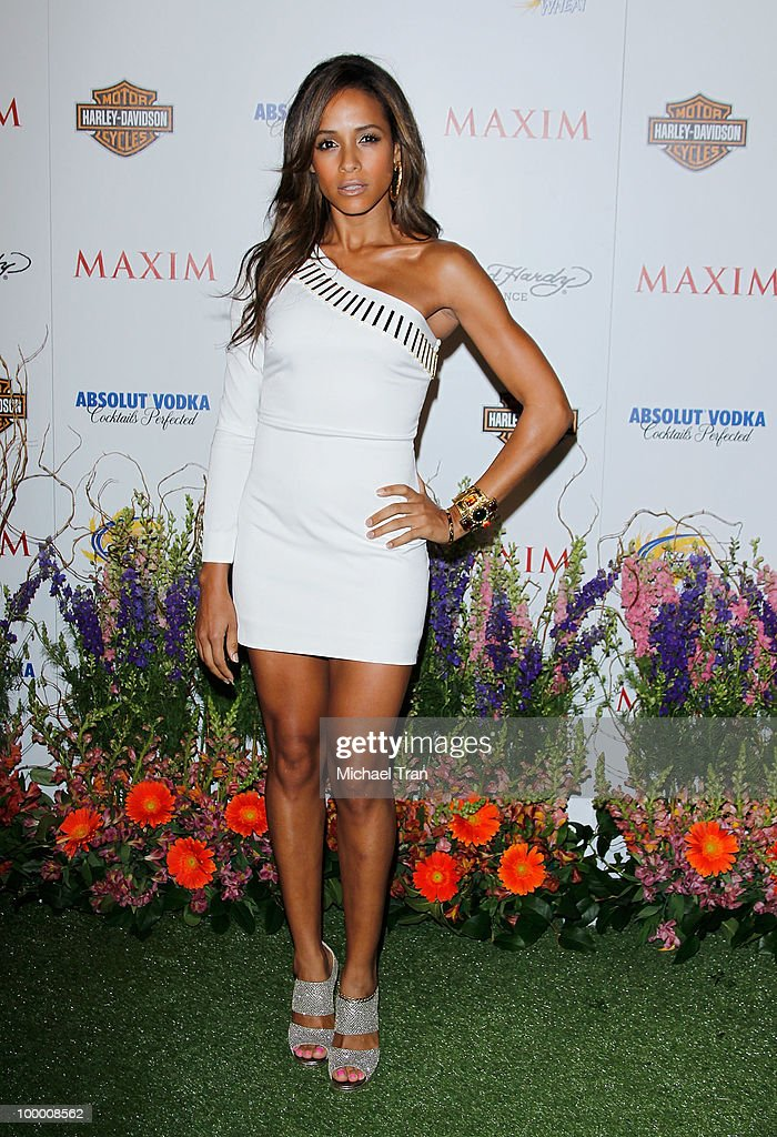 Dania Ramirez arrives for the 11th Annual MAXIM HOT 100 Party held at Paramount Studios on May 19, 2010 in Los Angeles, California.