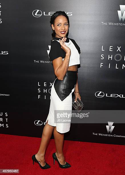 Dania Ramirez attends the Lexus Shorts Films presented by The Weinstein Company and Lexus at the Regal Cinemas at LA Live on July 30 2014 in Los...
