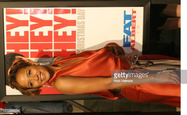 Dania Ramirez during 'Fat Albert' World Premiere Arrivals at Temple University Liacouras Center in Philadelphia Pennsylvania United States