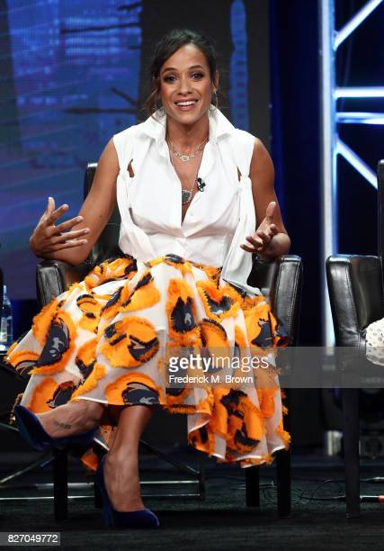 Dania Ramirez of 'Once Upon A Time' speaks onstage during the Disney/ABC Television Group portion of the 2017 Summer Television Critics Association...