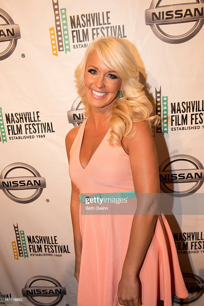 Danica Honeycutt attends the 2013 Nashville film festival at Green Hills Regal Theater on April 24, 2013 in Nashville, Tennessee.