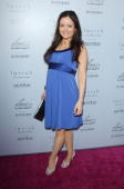 Danica McKellar arrives to Heidi Klum's Summer 2010 Collection launch event held at A Pea In The Pod on May 26 2010 in Beverly Hills California