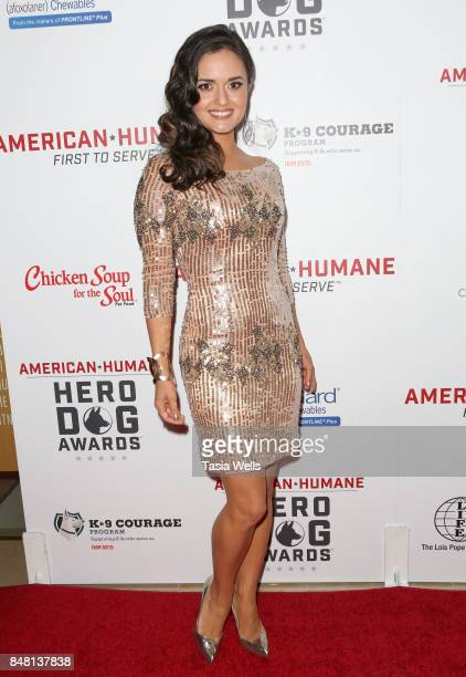 Danica McKellar at the 7th Annual American Humane Association Hero Dog Awards at The Beverly Hilton Hotel on September 16 2017 in Beverly Hills...
